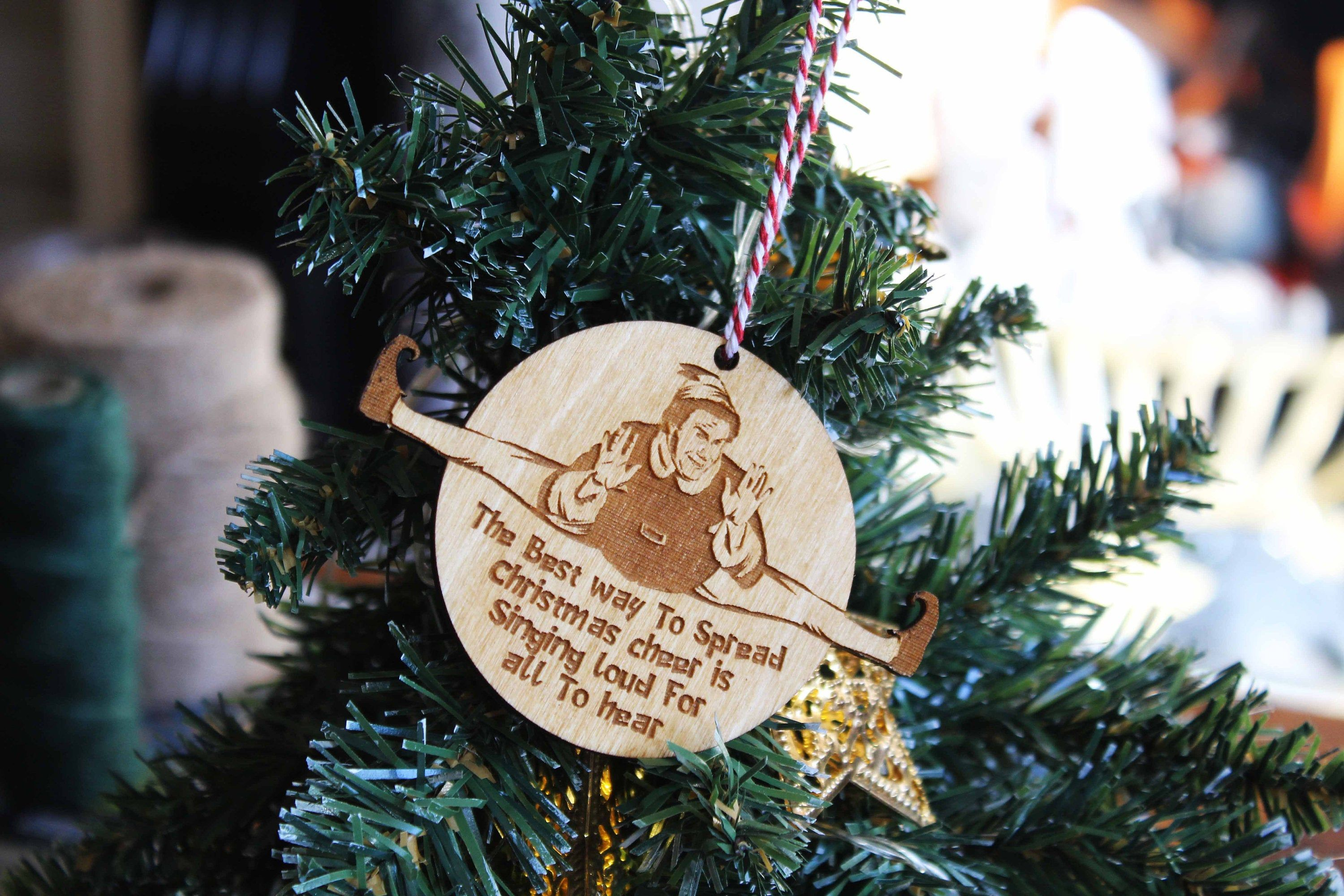 Pin On Wooden Christmas Tree Ornaments