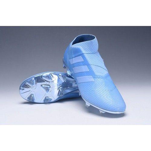 brand new e159d e6703 Modelos Botas De Futbol Adidas Nemeziz 18+ Spectral Mode FG Violeta Azul