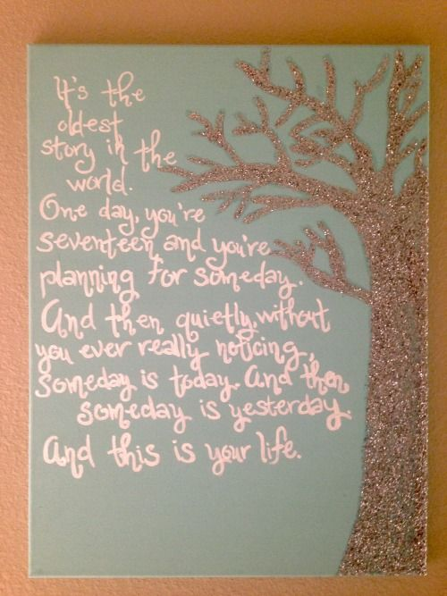 One Tree Hill Canvas Quote Little Sis Canvas Quotes One Tree