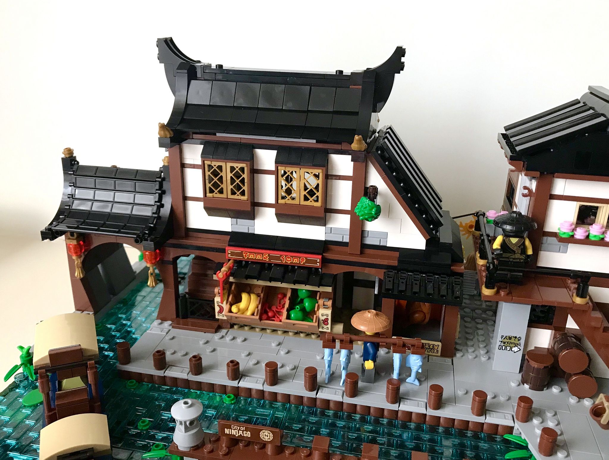Traditional Japanese Harbour Wip Lego Architecture Lego Factory Cool Lego Creations
