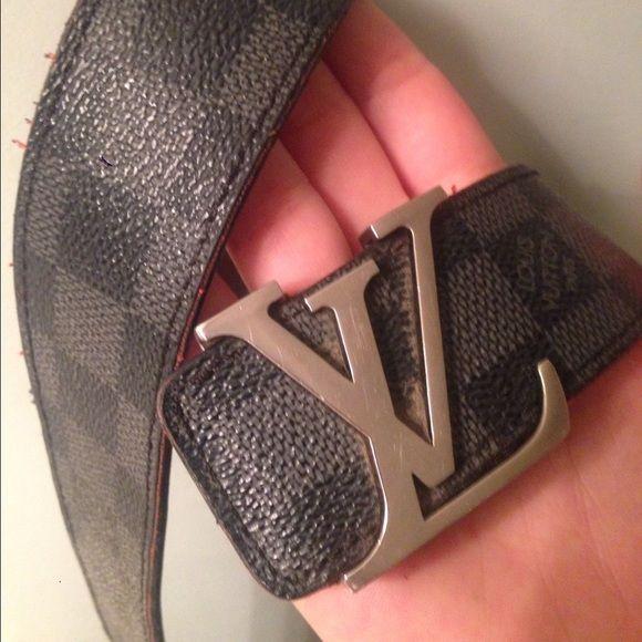 deb9d8d38170 Louis Vuitton belt authentic LV belt