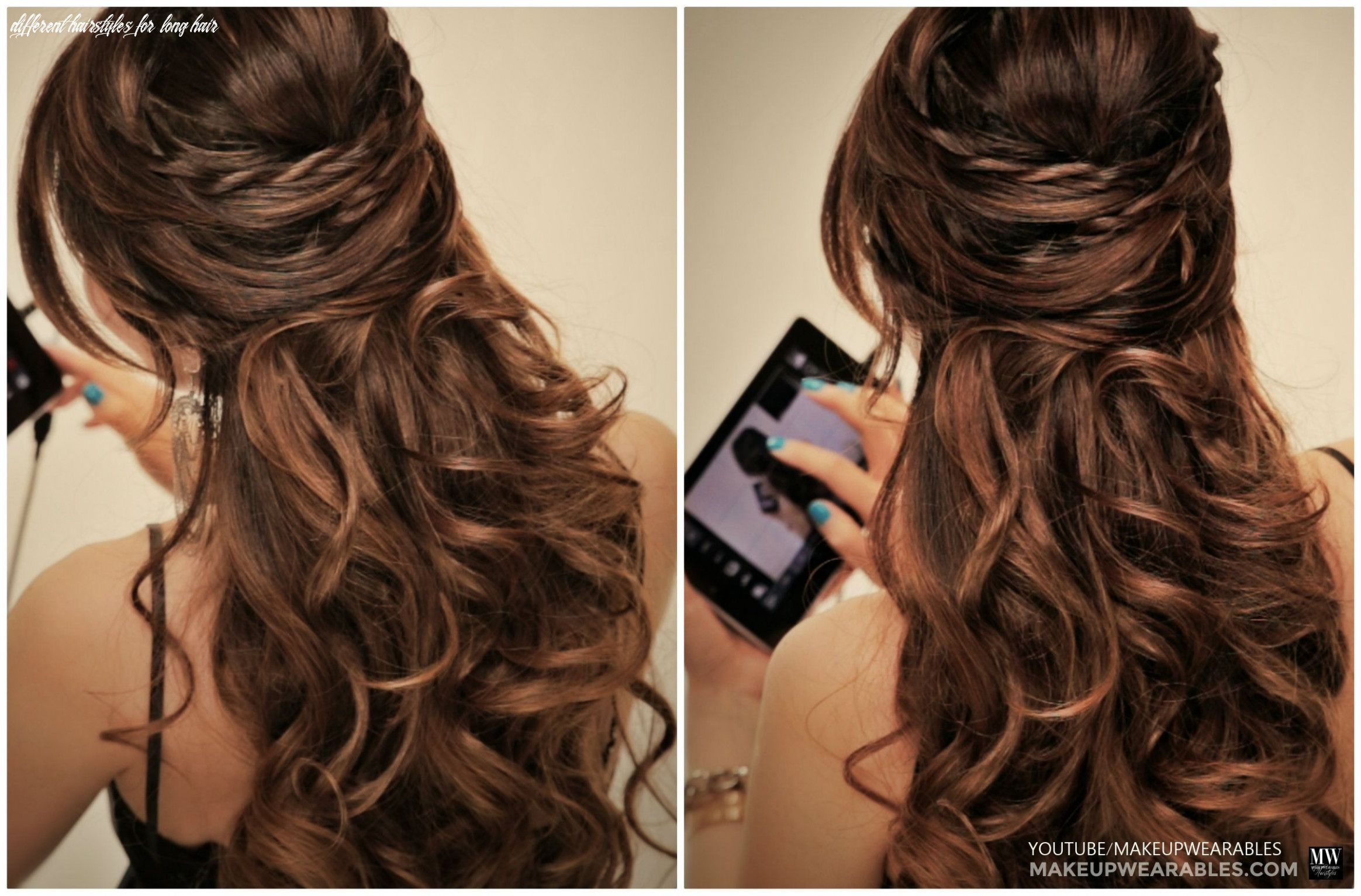11 Different Hairstyles For Long Hair Di 2020