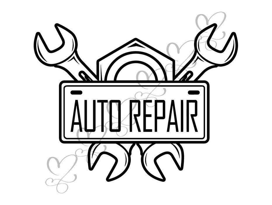 Auto Repair Air compressor Inflating Tire Shop Repairing