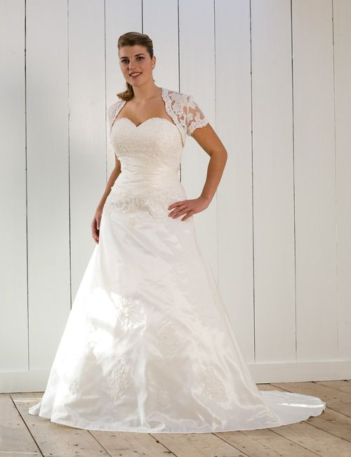 Fall Plus Size Wedding Dresses with Sleeves for Modest and Elegant ...