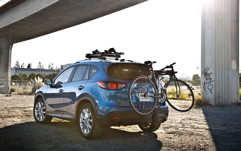 bike rack hatchback mazda