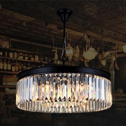 Alieexpress american round retro crystal loft chandelier $495 32 ...