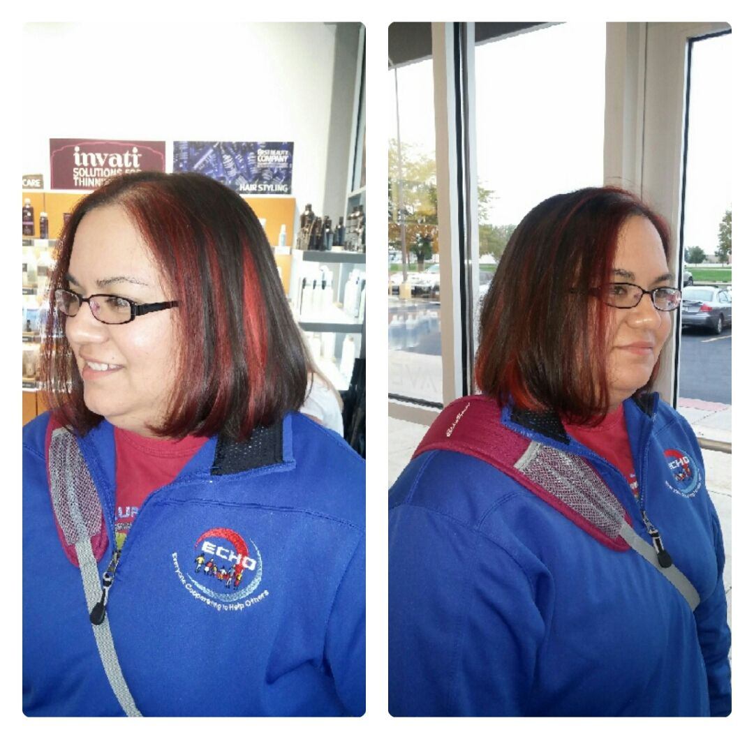 Courtesy of A Glo Pro Laura Hess...look at that color!