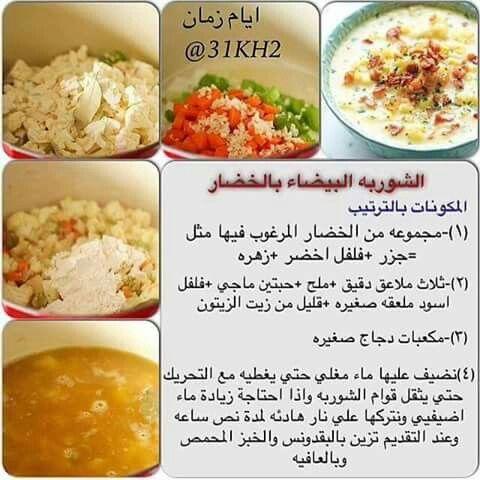 Pin Pa الطبخ