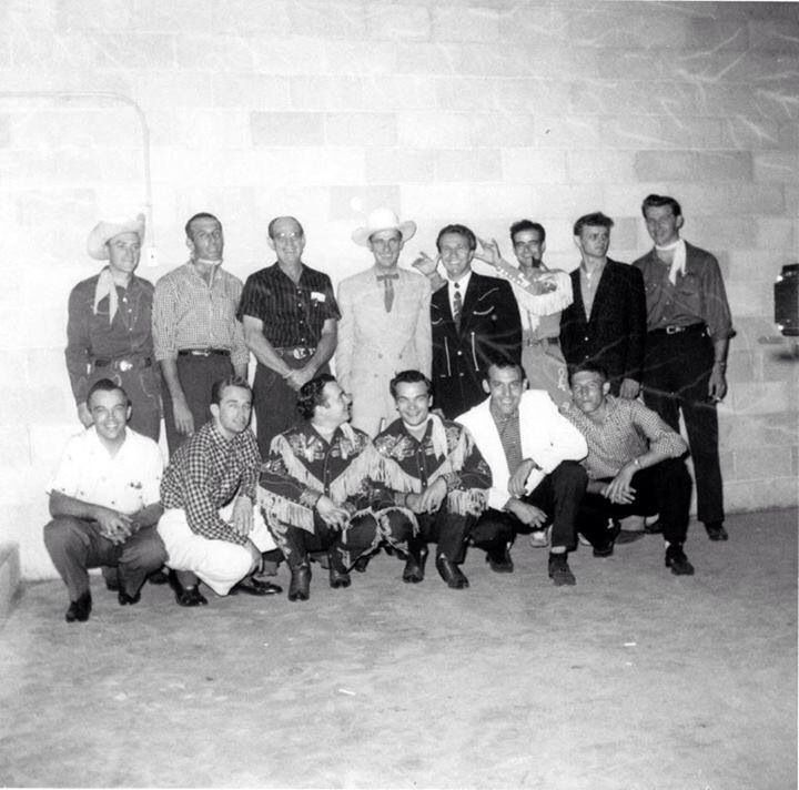 Ernest Jerry: Carl Perkins, Ernest Tubb,Marty Robbins,Autry Inman,Jerry