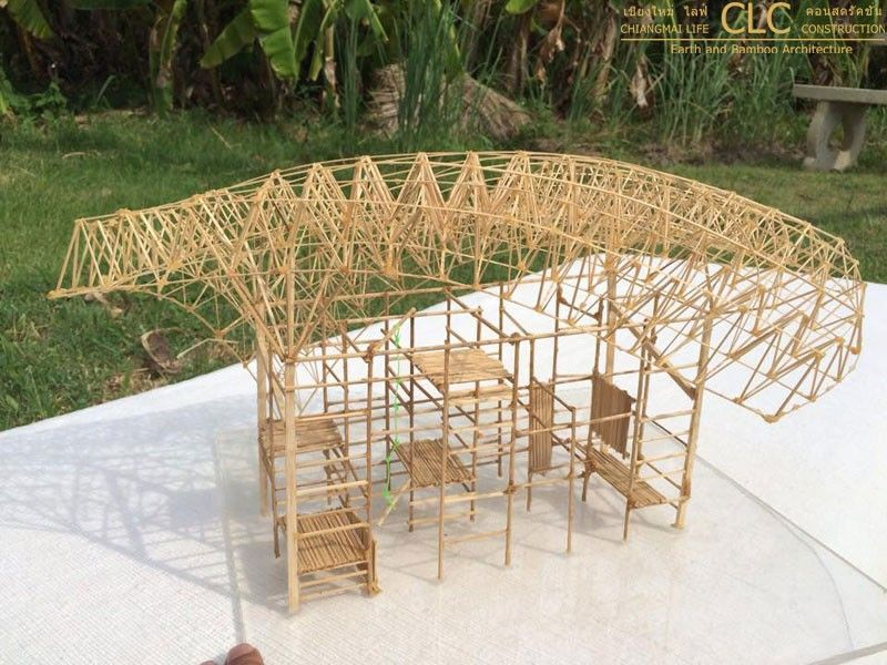 Bamboo Space Frame Playground Bamboo Architecture Architecture