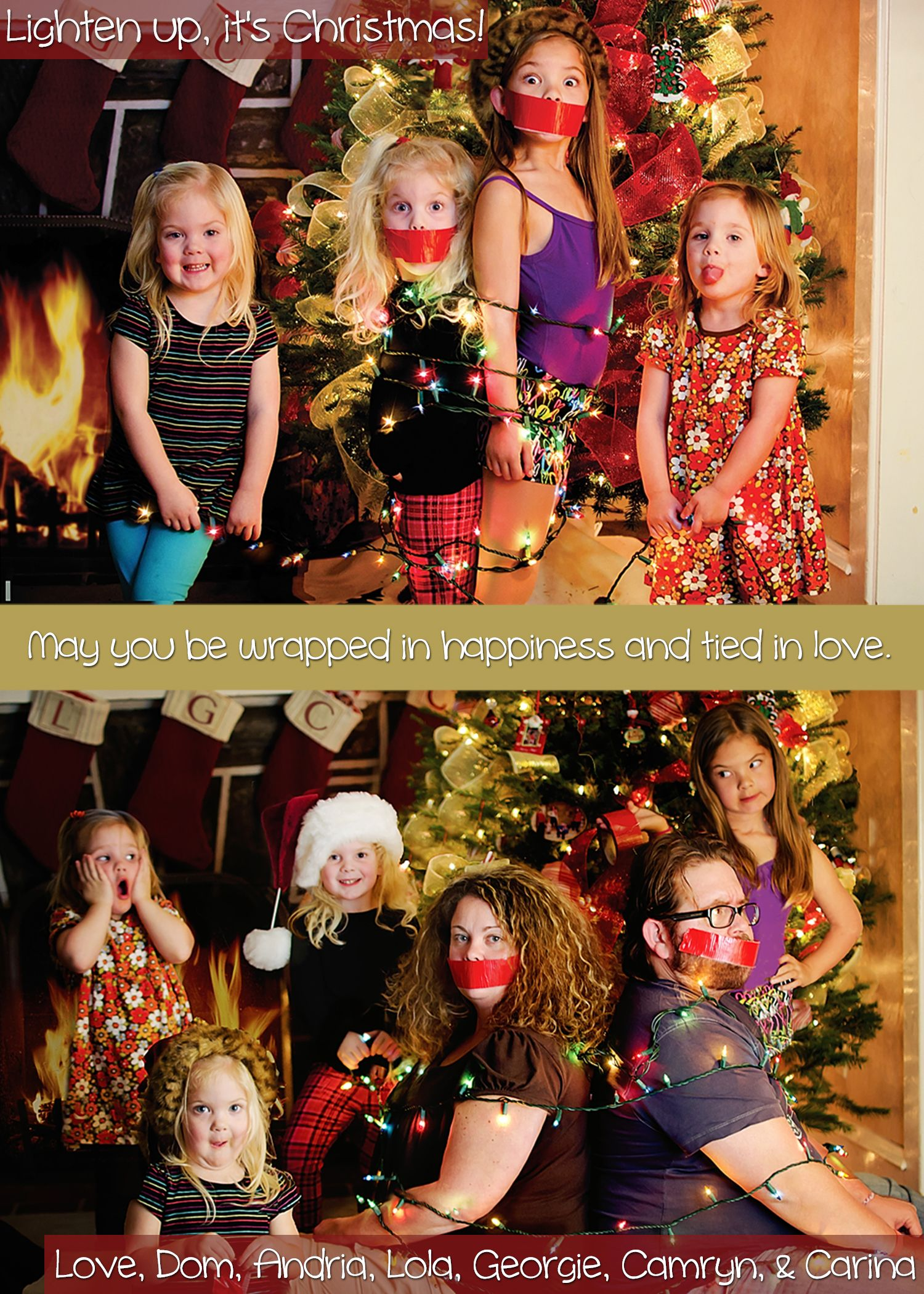 Beau Funny Christmas Card.