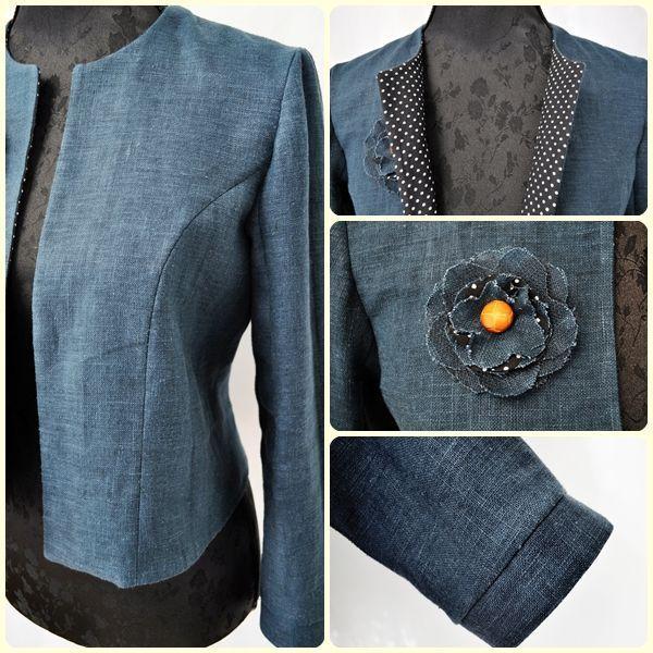 patron couture veste