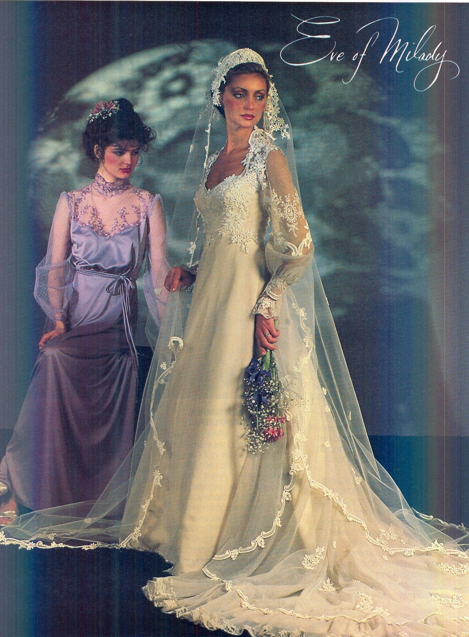 Eve of Milady gown from 1982 Brides Magazine  58c7737ba52e