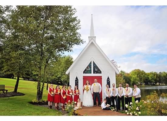 Pine Cradle Lake Wedding Venue In Northeastern PA Photo Courtesy Of Gail Boop Photography