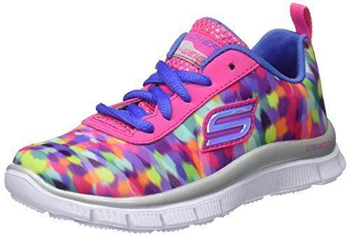 SkechersSkech AppealFloral Bloom - Zapatillas Niñas, Color Rosa, Talla 30