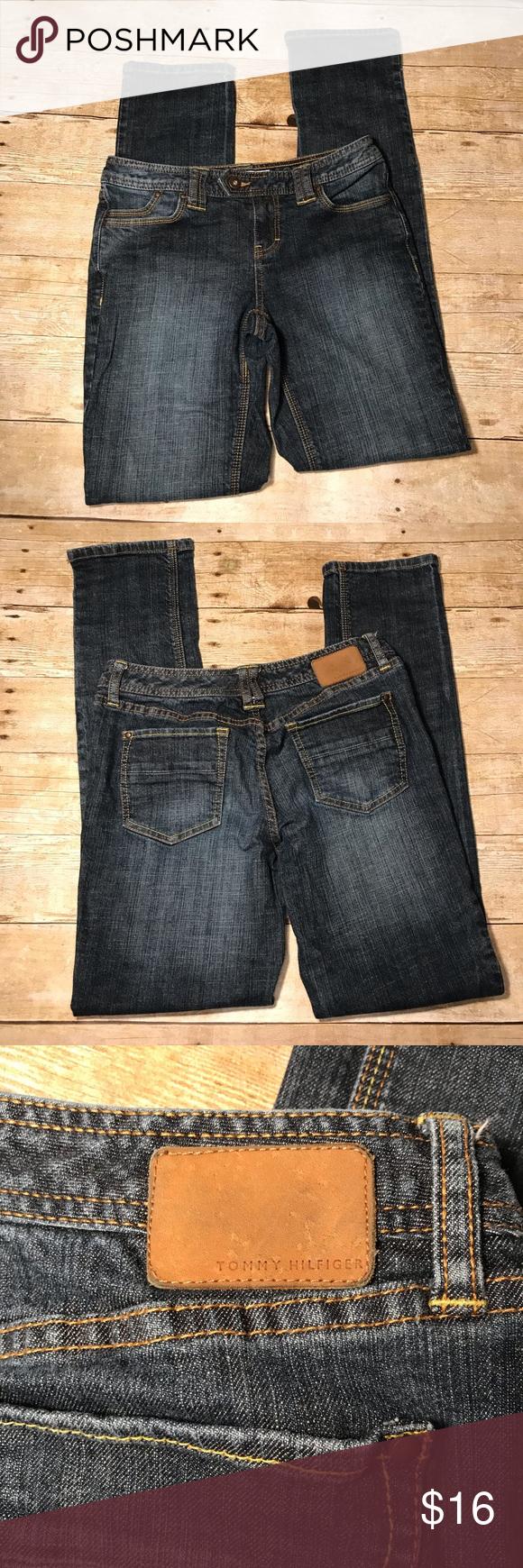 "b5b93fe5 Women's Tommy Hilfiger Skinny Jeans size 4 Tommy Hilfiger Jeans size 4  Skinny Length 39"" Inseam 31"" Tommy Hilfiger Jeans Skinny"