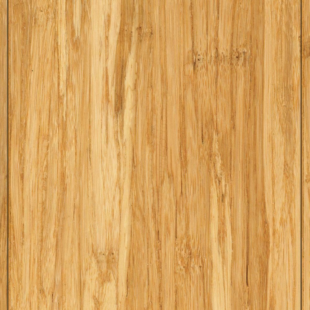 Home Legend Wire Brushed Strand Woven Tobacco 3 8 In X 3 7 8 In X 36 1 4 In Length Solid Bamboo Flooring 23 41 Sq Ft Case Hl211 Flooring Prefinished Hardwood Bamboo