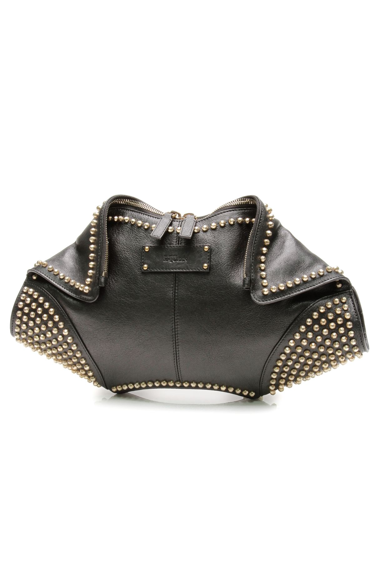 Pre-owned - Manta leather clutch bag Alexander McQueen EY91Ac9