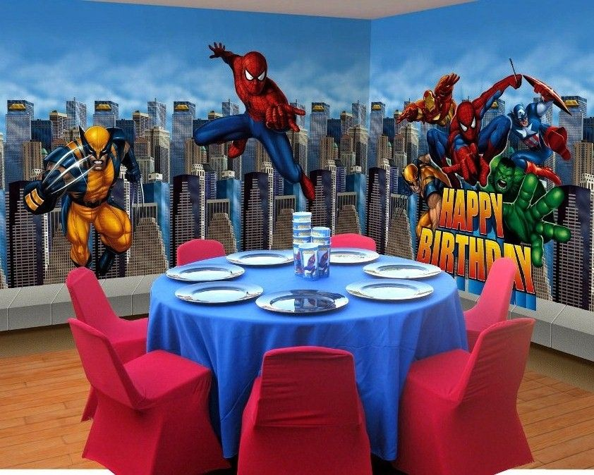 Kids Children Birthday Party Theme Table Decorations Ideas 842x674 In 184 3