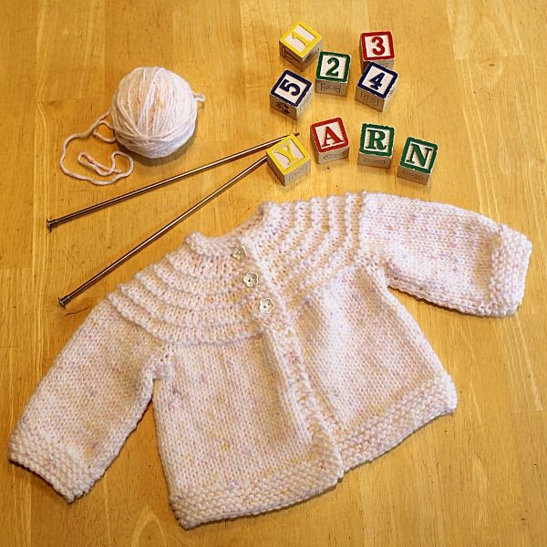 Another 5 Hour Baby Sweater - Knitting Pattern | Tejidos Niños ...