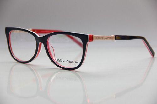 Armação P  Óculos De Grau Feminino D g Dolce 3107   I Love Glasses ... b1508cc674