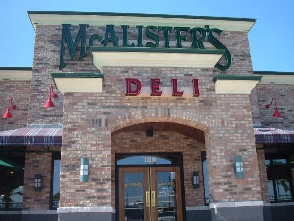 Mcalister S Deli Wichita Kansas This May Not Be The One