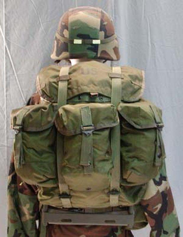 Pack an ALICE Pack | random stuff | Bushcraft pack, Army ...