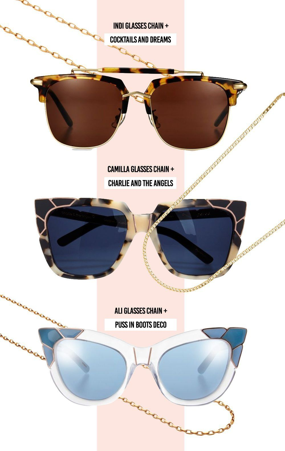 67fc357539c The Summer 2018 Sunglasses Chain Trend