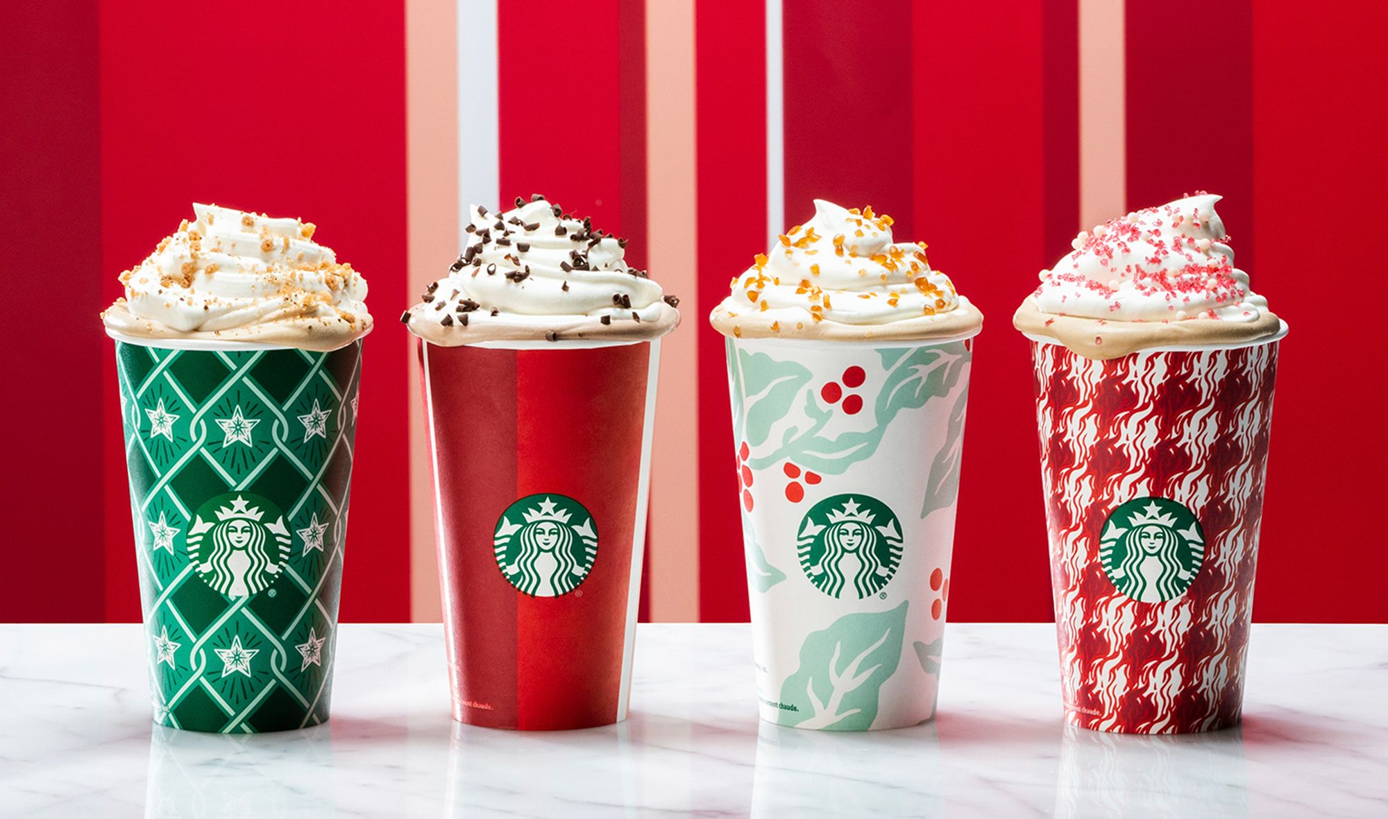 Is Starbucks Open On Christmas.Starbucks Holiday Cups Are Back In 4 New Designs And Not