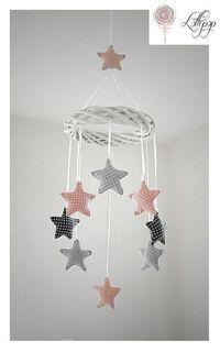 Mobile Sterne Diy Sewing Clothing Pinterest Baby Nursery