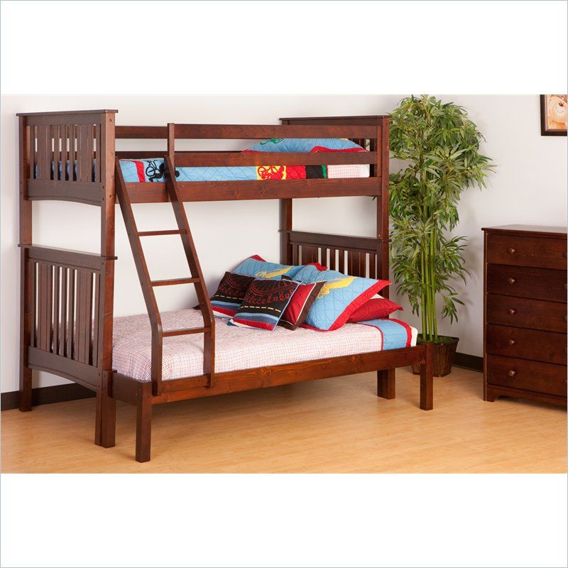 How To Make The Bed More Comfortable Ideas Homes Designs Bunk Beds Full Bunk Beds Twin Over Full Bunk Bed