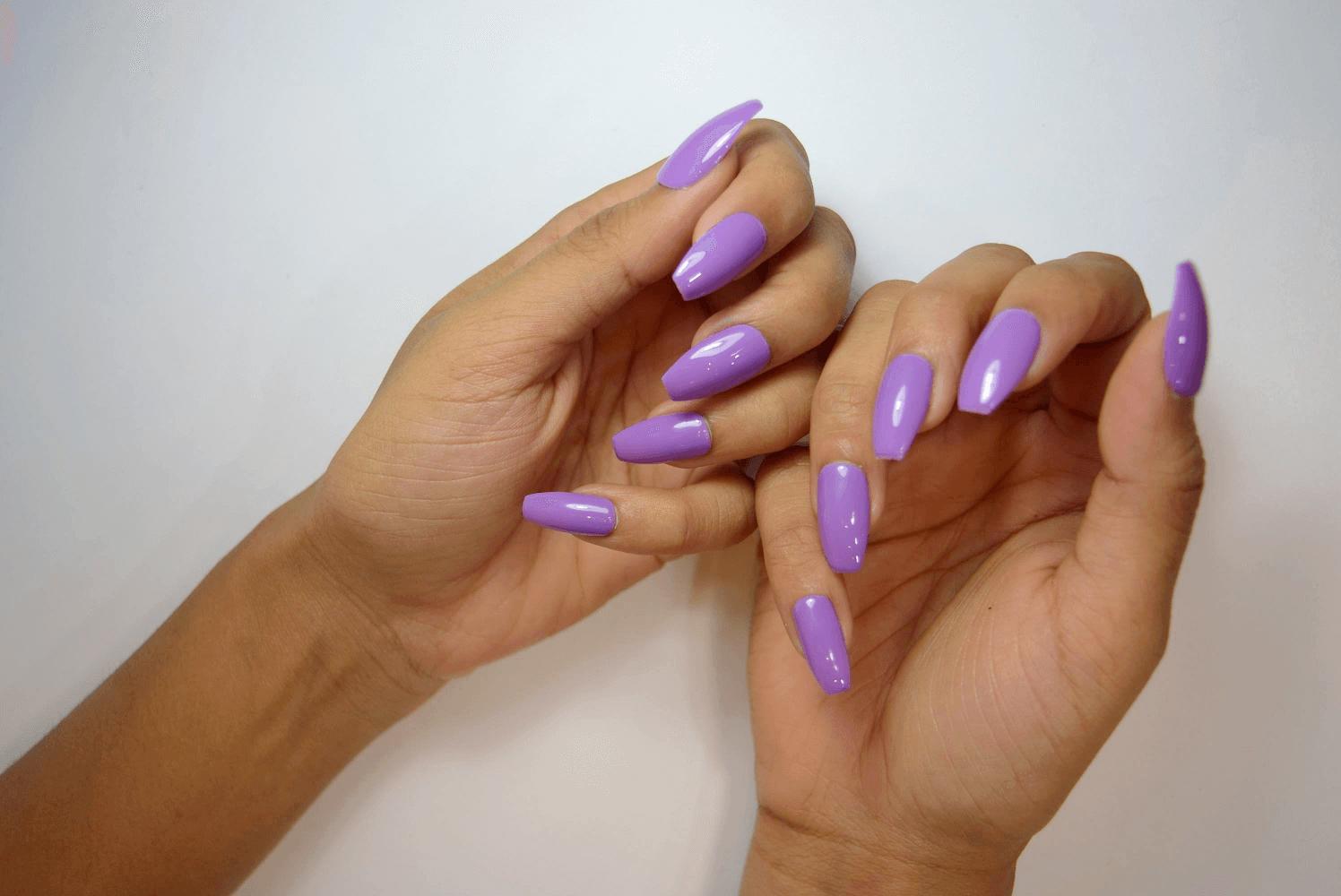 Corine Lastar Penetrates Nigeria With Unique Makeup Brushes Red Acrylic Nails Boho Nails Fall Acrylic Nails