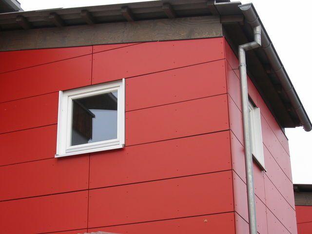 Bardage composite panneaux voralberg fa ade bois fibro ciment ou m tallique pinterest - Bardage de facade maison ...
