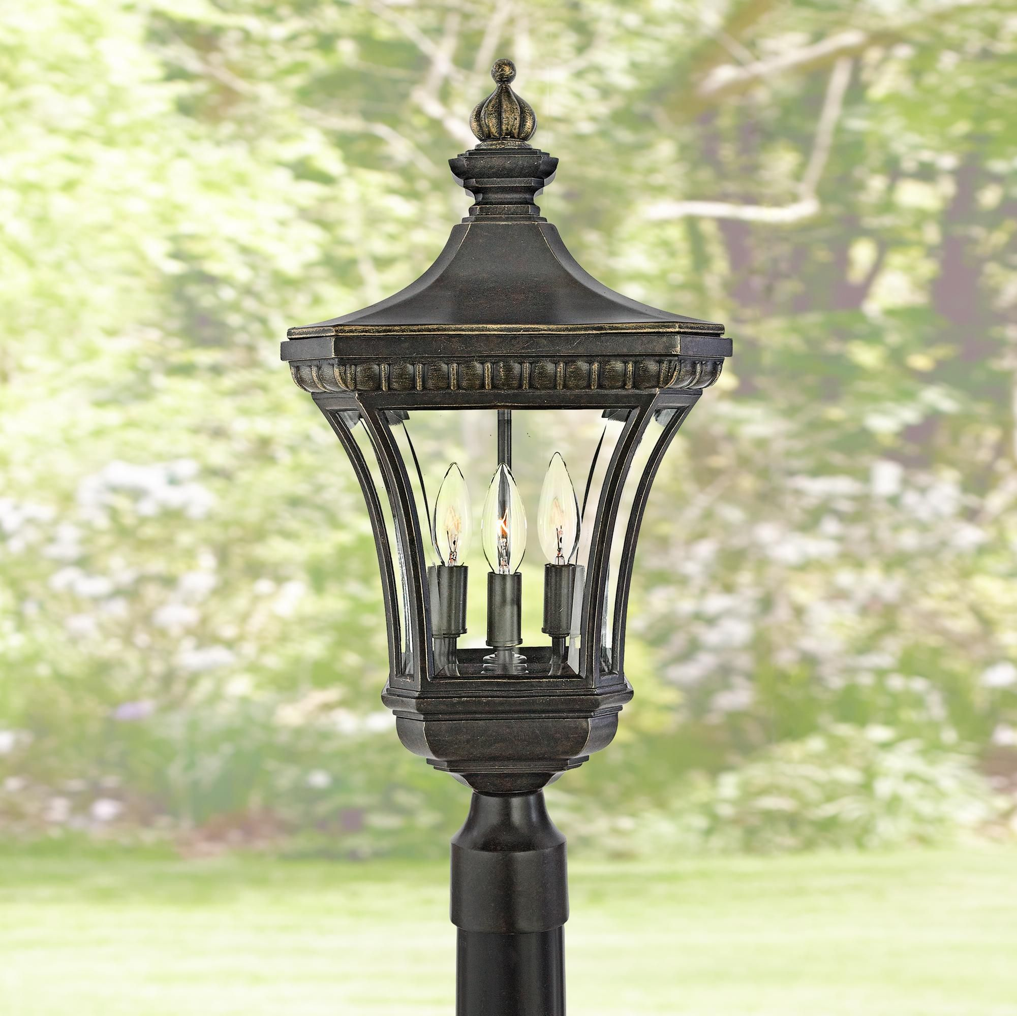 Devon Collection 23 Inch High Outdoor Post Light Post Lights Outdoor Post Lights Lamp Post Lights