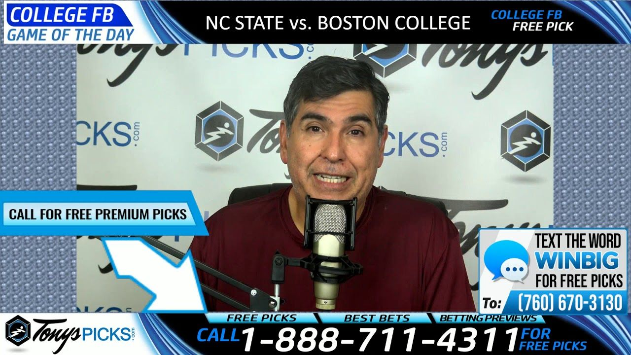 NC State vs. Boston College Free NCAA Football Picks and