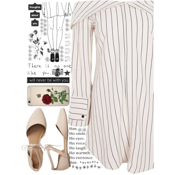 Untitled #439 by cherryprincessannie on Polyvore featuring Topshop, Gap, Maison Margiela, Love Quotes Scarves and Hello Darling