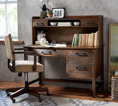 Paulsen Reclaimed Wood Desk #potterybarn