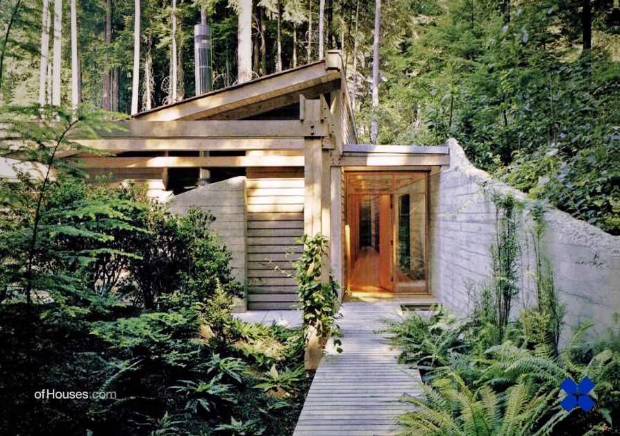 james cutler bagley wright guest house the highlands washington usa 1987 architektur