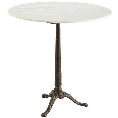 Ordinaire Possessing The Charm Of A Vintage Parisian Bistro Table But With A Modern  Sensibility, This