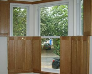 ... Wood Window Shutters Interior