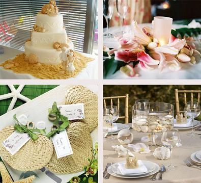 beach wedding decorations beach wedding receptions a. Black Bedroom Furniture Sets. Home Design Ideas