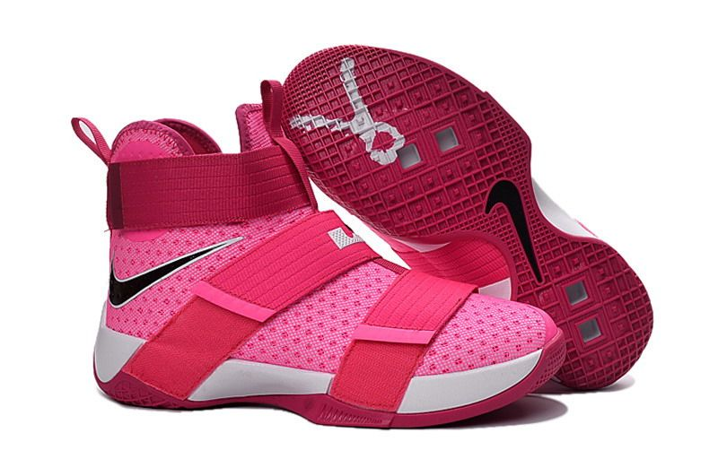 Cheap Nike Lebron Soldier 10 Kids Pink
