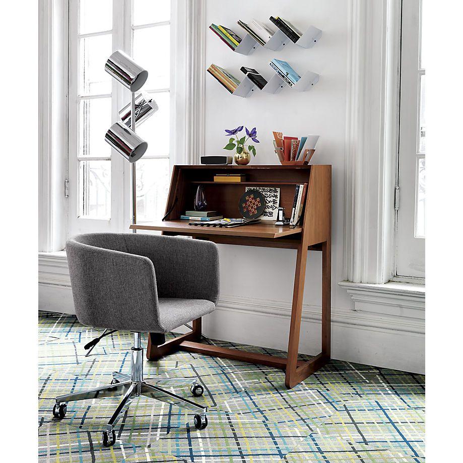 intimo secretary desk | CB2 | Furniture | Pinterest | Wohnideen