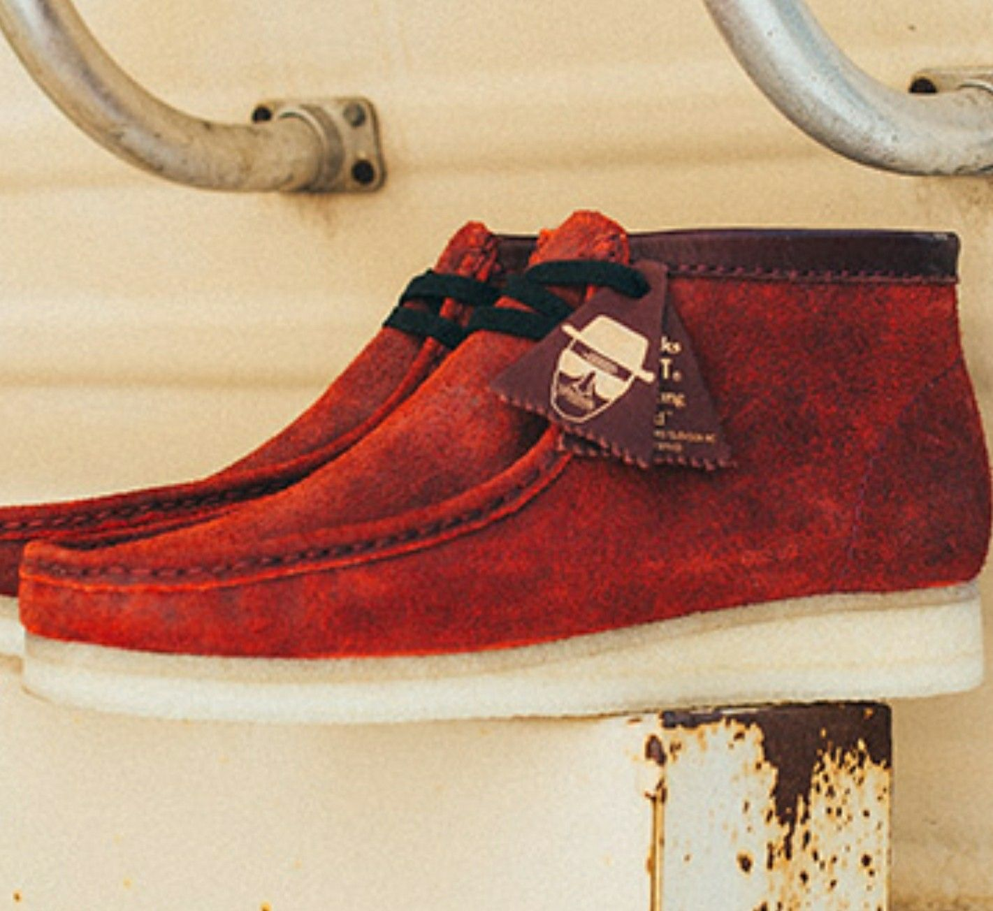 Breaking Bad Clarks Wallabees | Clarks shoes mens, Clarks