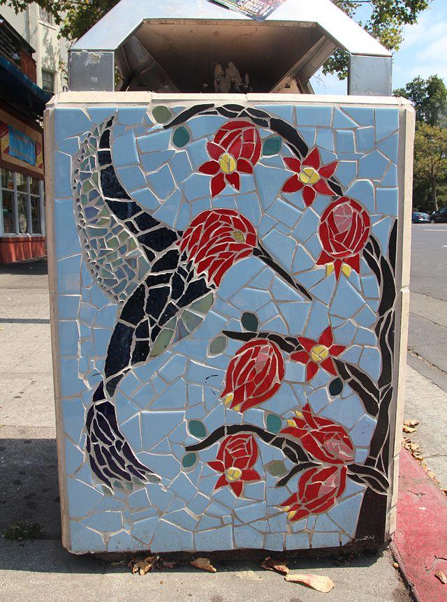 Street Mosaics On Grand Avenue, Oakland