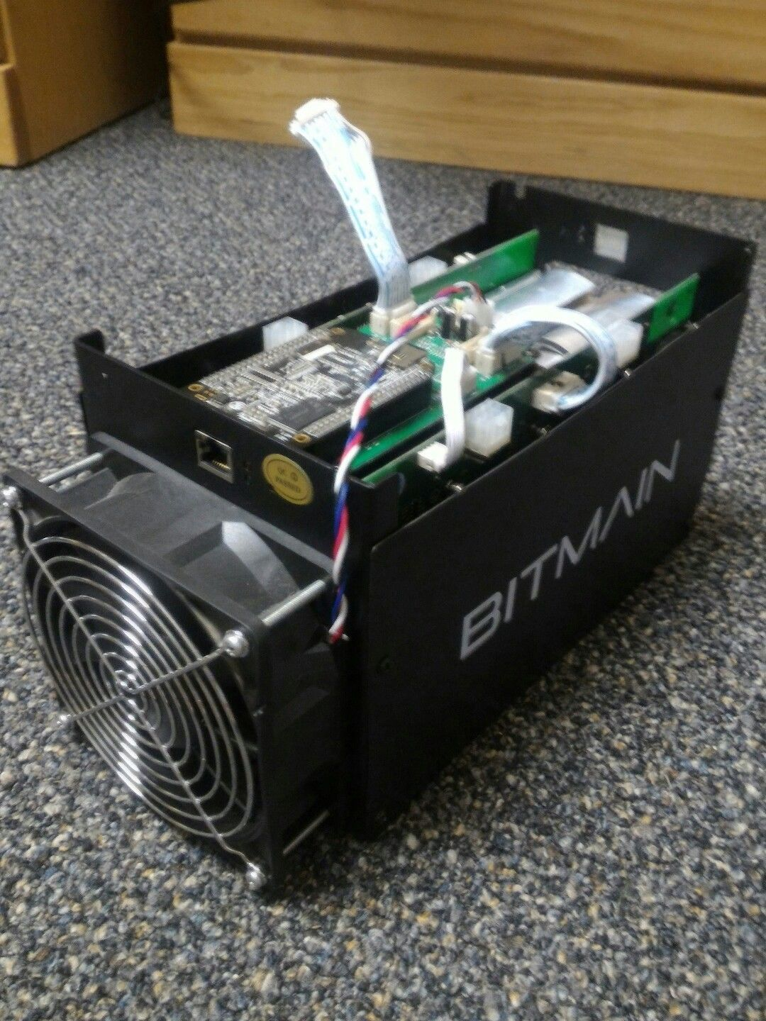 Item specifics Brand: Bitmain Processing Speed (GH/s): 1155