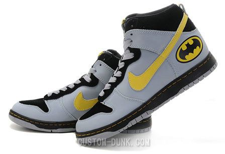 Custom Made Nike Batman & Robin Shoes Along with Several