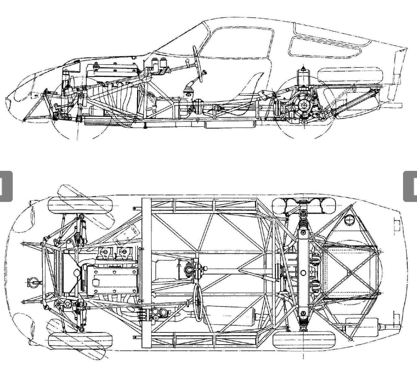 Pin By M G On Blueprints Pinterest Alfa Romeo Giulia Spider Engine Diagram Ford Gt40 Ac Cobra Sports Car Racing Cutaway