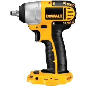 Impact wrenches are a must for any garage. Dewalt makes one of the best wrenches. $103.99
