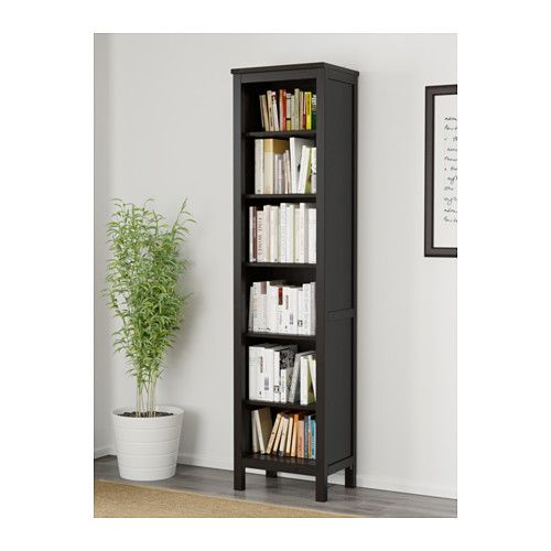 hemnes biblioth que brun noir ikea maison bureau en 2019. Black Bedroom Furniture Sets. Home Design Ideas